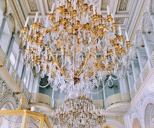 chandelier, interior, and moscow image
