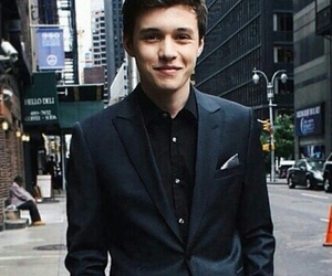 nick robinson, boy, and Hot image
