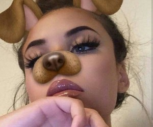 dog, filter, and cute image