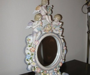 mirror, vintage, and old image