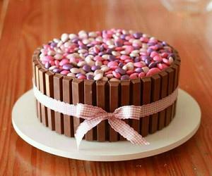 cake, chocolate, and pink image