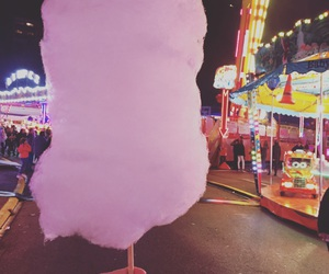 cotton candy and fair image