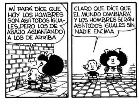 Image about mafalda in 🔜Quotes🔙 by Luna on We Heart It