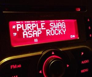 music, asap rocky, and radio image