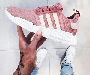 pink, adidas, and fashion image