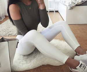 adidas, girl, and look image
