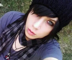 black veil brides, andy biersack, and andy sixx image