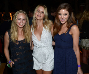 kayla ewell, claire holt, and candice accola image