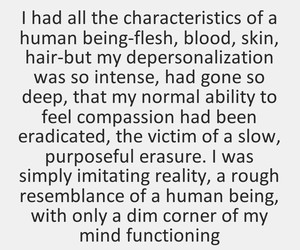 quotes, depersonalization, and derealization image