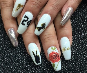art, inlove, and nail image