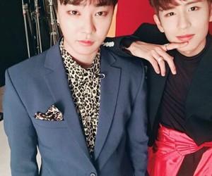jeongmin, boyfriend+, and minwoo image