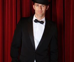 actor, matthew morrison, and black suit image
