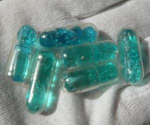 pills, blue, and grunge image