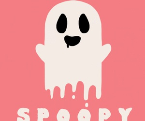 ghost, Halloween, and spoopy image