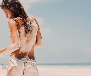 beach, fabulous, and photography image