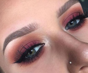 makeup, eyeshadow, and pretty image