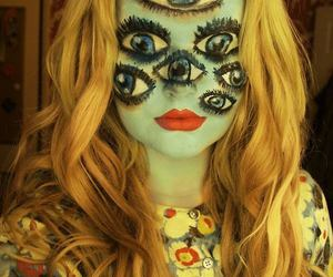 Halloween, eyes, and makeup image