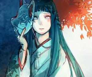 anime, hinata, and naruto shippuden image
