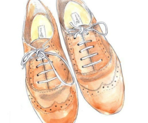 oxford, drawing, and shoes image