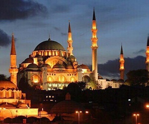 mosque, istanbul, and turkey image