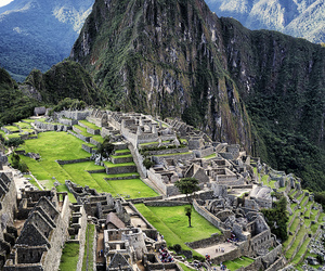 peru, travel, and machu picchu image