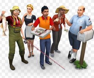the sims and the sims 4 image