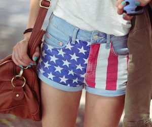 fashion, america, and bag image
