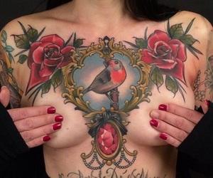 chest tattoo image