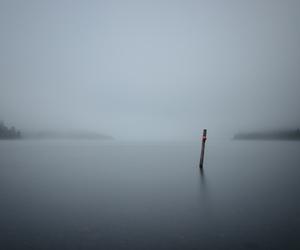 aesthetic, fog, and lake image