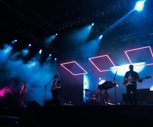 blue, music, and the 1975 image