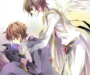 bl, code geass, and yaoi image