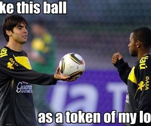 aw, ball, and brasil image