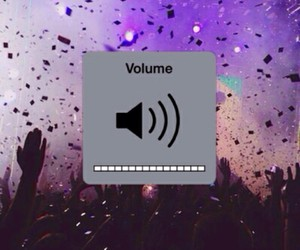music, volume up, and turn up image