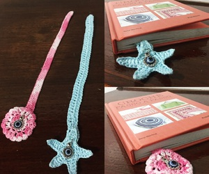 bookmark, croche, and crochet image