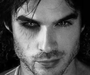 ian somerhalder, the vampire diaries, and damon image