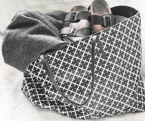 black and white, purse, and marlene birger image