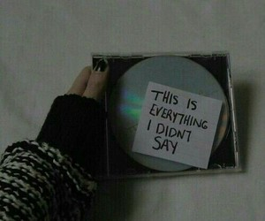 grunge, music, and cd image