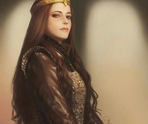 eva green, fierce, and Queen image