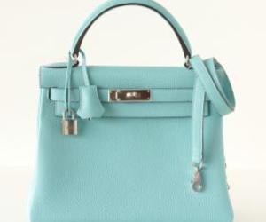 bag, handbag, and hermes bag image