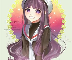anime girl, fan art, and long hair image