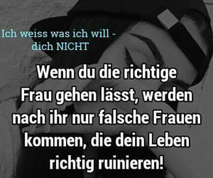 german, sad, and sprüche image