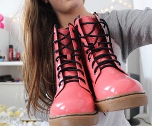 pink, shoes, and boots image