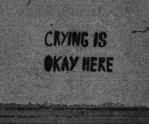 crying, sad, and quotes image