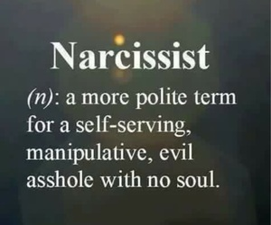 narcissist and quotes image