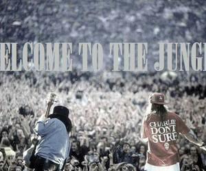 Duff, axel rose, and Guns N Roses image