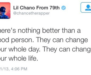 quotes, chance the rapper, and life image