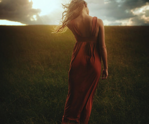 photography, woman, and girl image