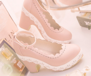 pink, shoes, and cute image