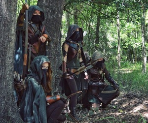 archery, assassin, and fantasy image