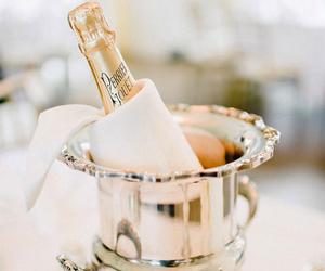 champagne and christmas image